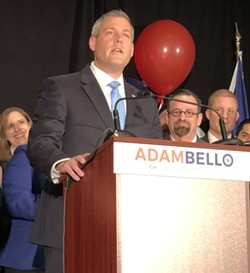 Democrat Adam Bello has announced that he's running for Monroe County executive. - PHOTO BY RANDY GORBMAN