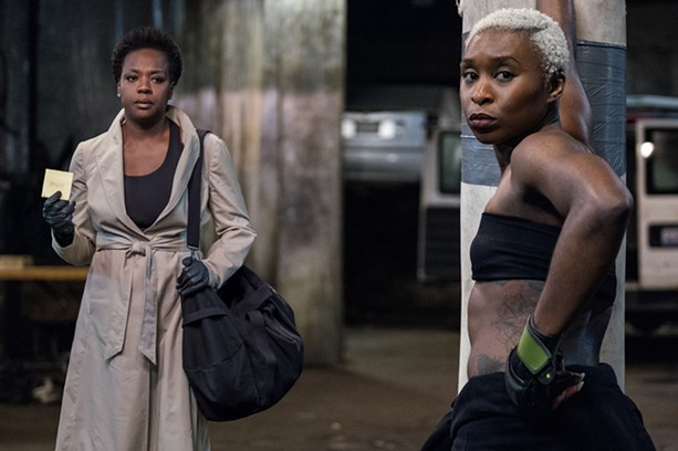 "Cynthia Erivo with Viola Davis in ""Widows."" - PHOTO COURTESY 20TH CENTURY FOX"