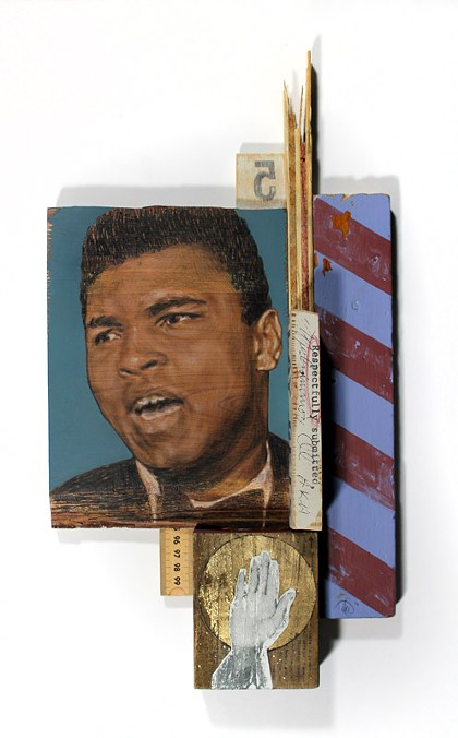 Portraits of American heroes on display at Makers