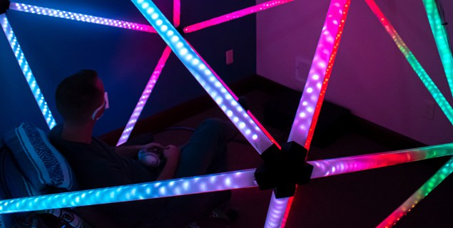 New art installation 'blooms' in acupuncture office