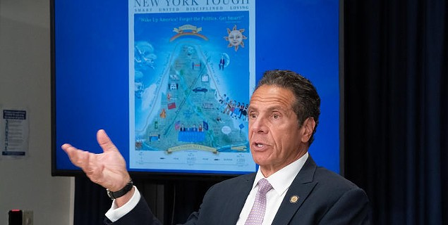 Cuomo says schools can reopen, but leaves the details to them