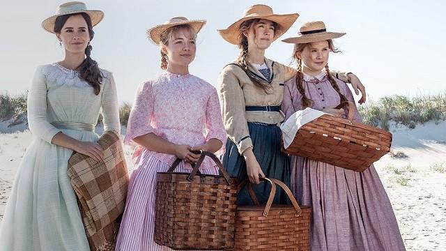"""Emma Watson, Florence Pugh, Saoirse Ronan, and Eliza Scanlen in """"Little Women."""""""