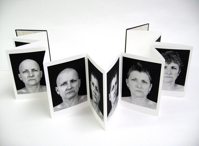 """""""Hair Loss,"""" a 2007 book with inkjet prints, is included in the """"Bea Nettles: Harvest of Memory"""" retrospective at George Eastman Museum."""