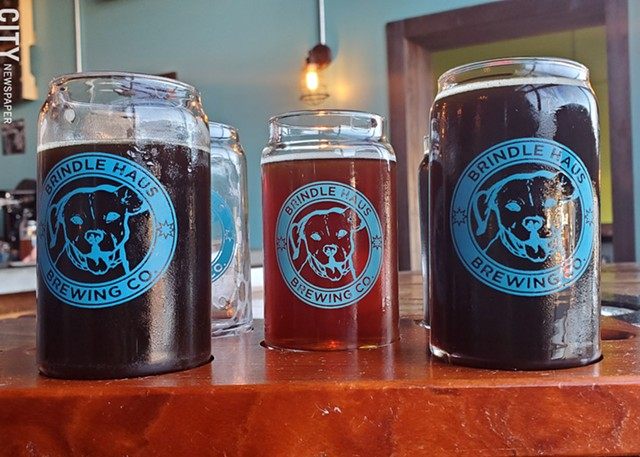 You can't enjoy an in-house flight right now at Brindle Haus -- or anywhere else -- but that doesn't mean you can't still support your favorite local breweries.