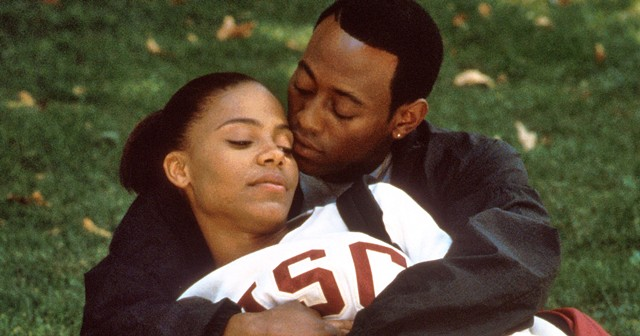 "Sanaa Lathan and Omar Epps in ""Love & Basketball,"" directed by Gina Prince-Bythewood."