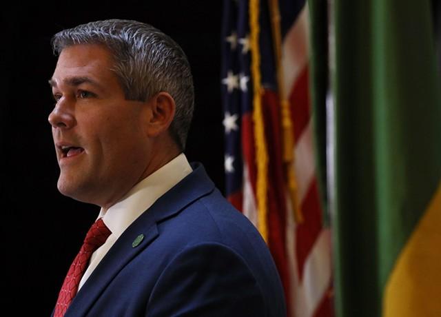 Monroe County Executive Adam Bello.