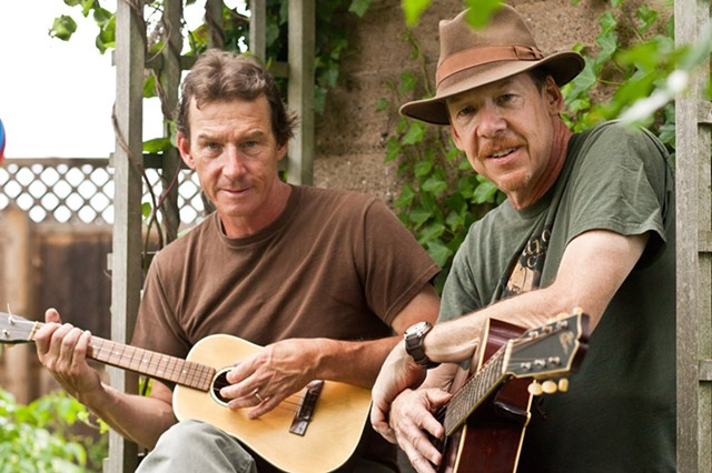 Local folk music icons John (left) and Joe Dady are among the Rochester Music Hall of Fame's 2020 inductees.