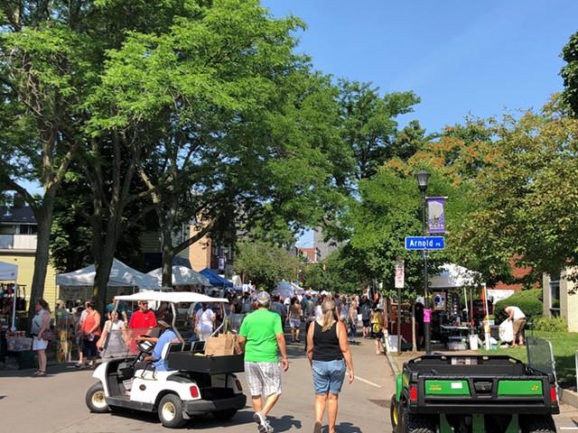 Park Avenue Summer Art Festival.