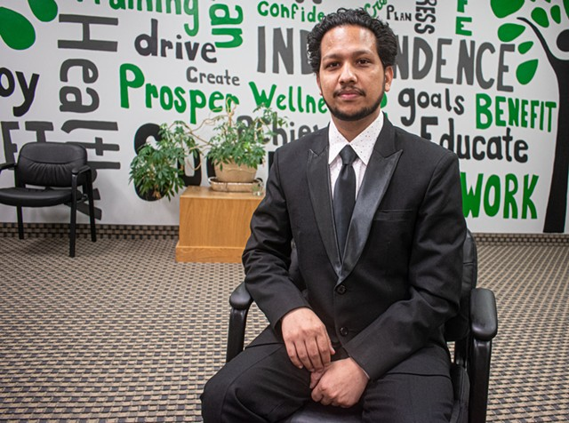 Born in a Nepali refugee camp, Bijaya Khadka came to Rochester in 2009 at the age of 17. Today, through his non-profit House of Refuge, he aims at helping other new Americans find the life in America he once dreamed of.
