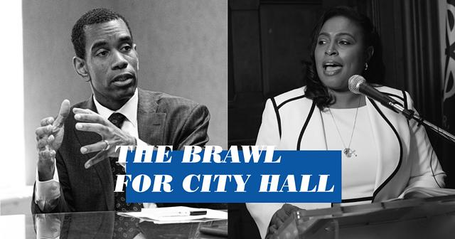 Embroiled in scandal, Mayor Lovely Warren faces a tough battle against City Councilmember Malik Evans in the mayoral race.