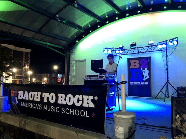 Bach to Rock Student DJ at House of Guitars Stage
