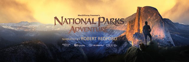 National Parks Adventure is presented with open captioning when requested.