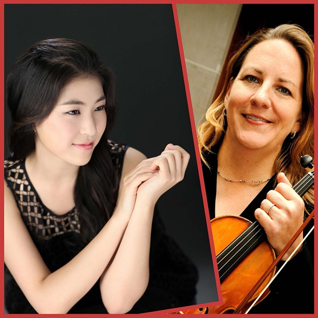 E-Na Song and Lara Sipols will perform in concert at SUNY Brockport on October 27, at 7:30 pm.