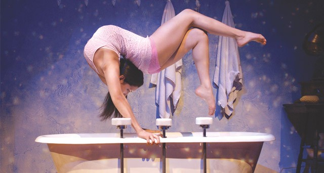 """Contortionist Sasha Pivaral will perform as part of the show """"Cabinet of Wonders."""""""