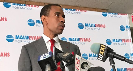 Evans vows clean administration following his mayoral primary victory