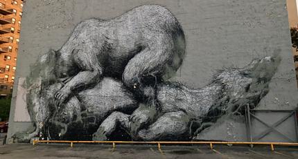 Rochester's infamous 'Sleeping Bears' mural vandalized