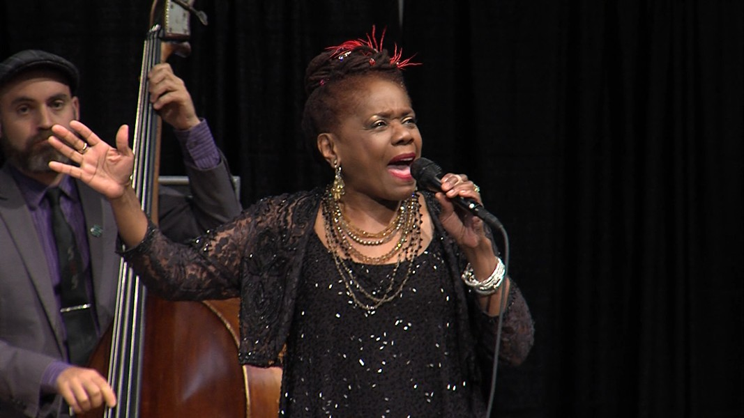Rochester International Jazz Festival favorite Catherine Russell returned on Friday, June 28. - PHOTO BY MARTIN  KAUFMAN