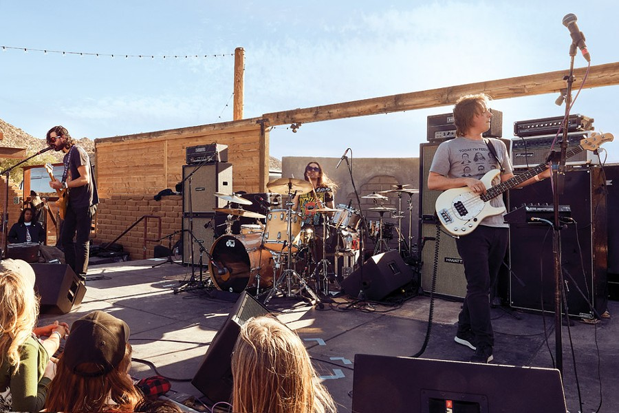 King Buffalo at Stoned and Dusted in May in the Mojave Desert. - PHOTO BY SAM GRANT