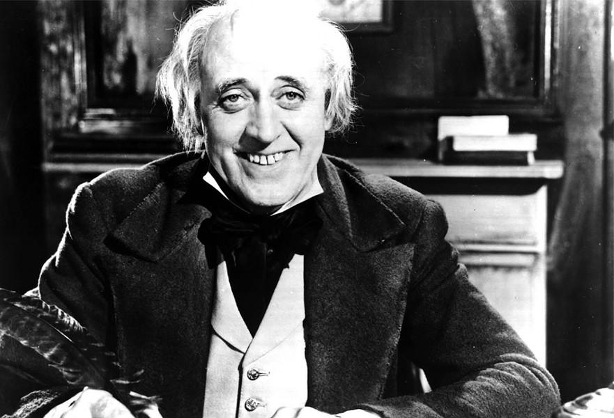 "Alastair Sim in ""Scrooge"" - COURTESY UNITED ARTISTS"