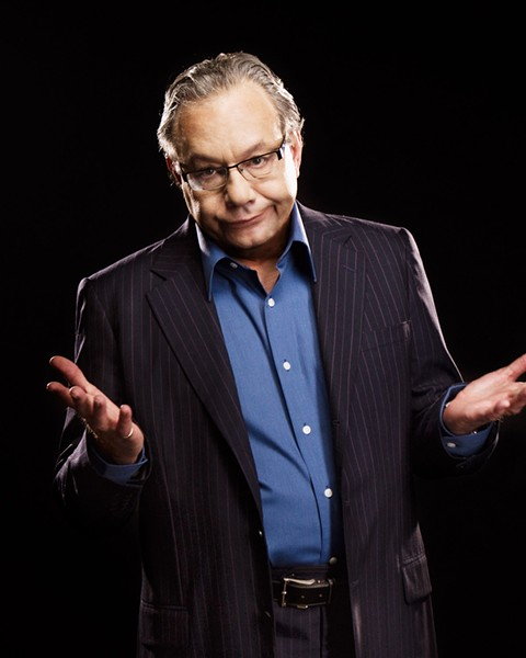 Lewis Black's anger-infused approach to stand-up comedy has elevated ranting to an art form. - PHOTO BY CLAY MCBRIDE
