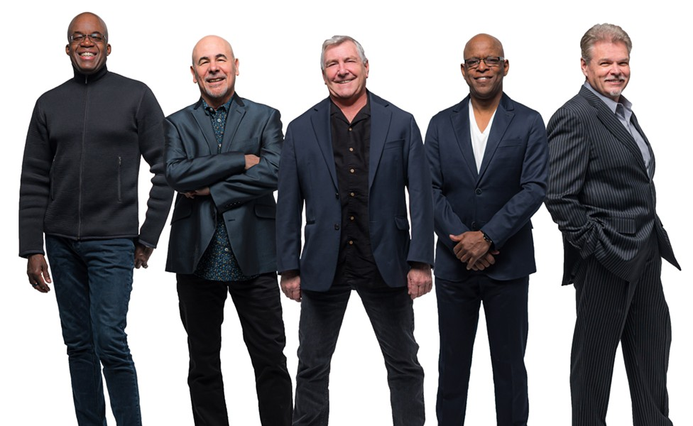 Jazz fusion band Spyro Gyra. - PHOTO PROVIDED