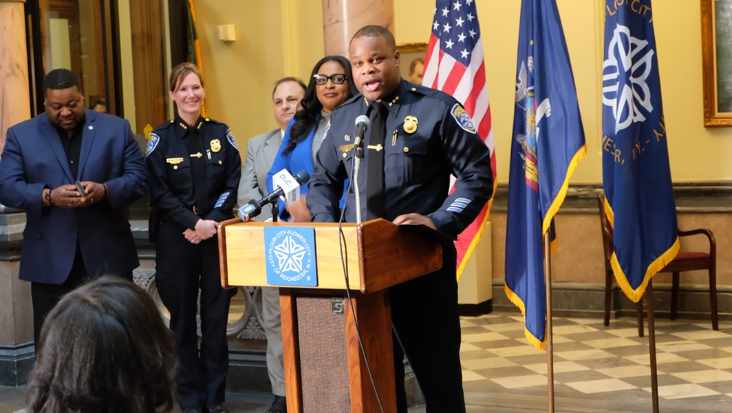 Rochester Police Chief La'Ron Singletary. - FILE PHOTO