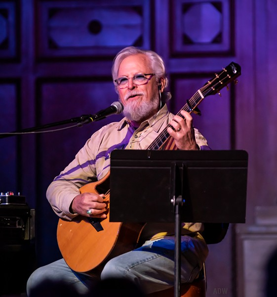 """Singer-guitarist Don Potter thinks the best formula for performing Christmas music is """"familiar song, new arrangement."""" - PHOTO BY AARON WINTERS"""