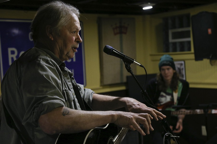 """Songwriter Jeff Riales (left) will share his version of """"No One Will Ever Know"""" this Friday at """"If All Rochester Wrote the Same Song."""" - PHOTO BY MAX SCHULTE"""