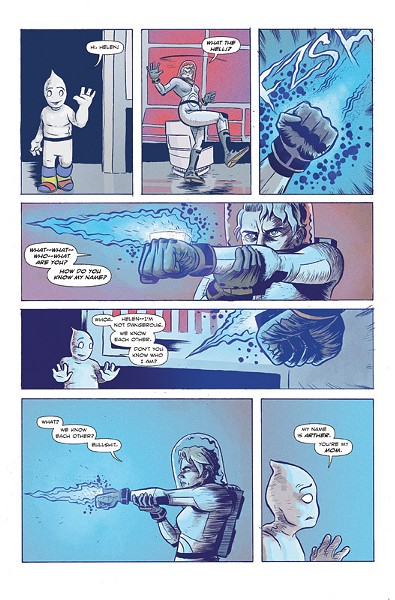 """A page from Dave Chisholm's """"Canopus,"""" Issue No. 1. - ART PROVIDED"""