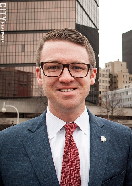 Alex Yudelson, Mayor Lovely Warren's chief of staff, is challenging Assembly member Harry Bronson for the 138th Assembly District seat. - FILE PHOTO
