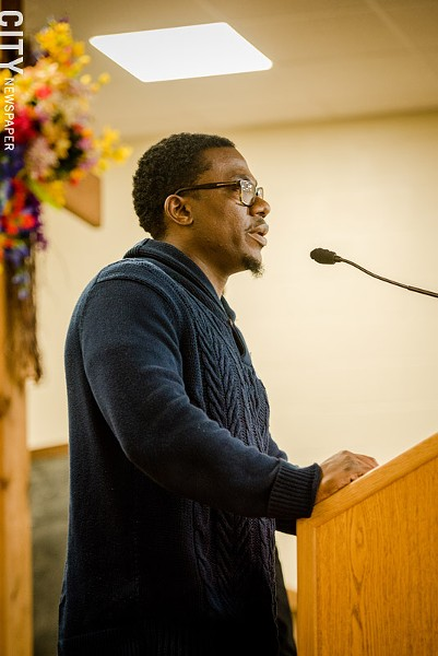 Demond Meeks represents the Rochester region on the New York State Poor People's Campaign Coordinating Committee. - PHOTO BY JOSH SAUNDERS