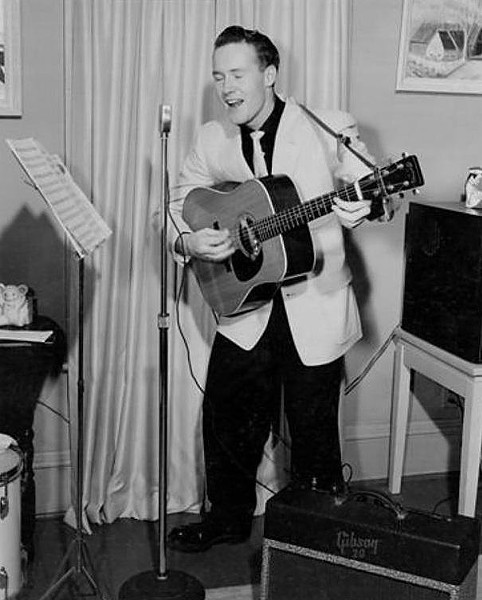 Jerry Englerth — or Jerry Engler, as he was known in the rockabilly world — died last week at age 84. - PHOTO PROVIDED BY ROCKABILLYHALL.COM