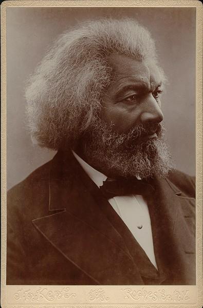Frederick Douglass - PHOTO COURTESY OF UNIVERSITY OF ROCHESTER