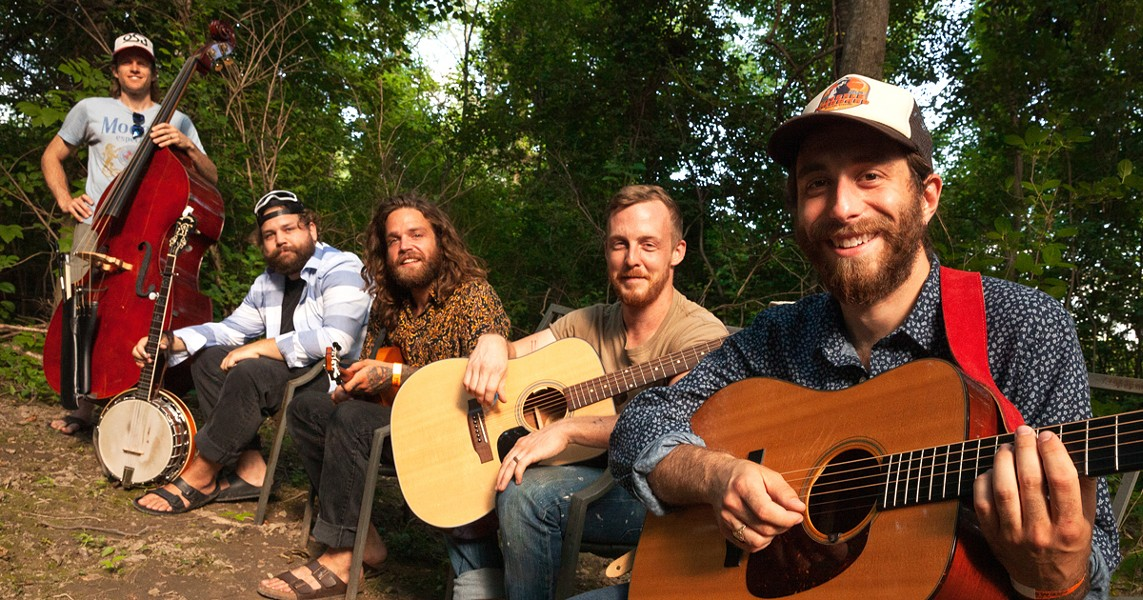 """Finger Lakes bluegrass band Dirty Blanket will open the """"Easy Like Sunday Evening"""" concert series at Three Heads Brewing on July 19. - PHOTO BY TOM FUCILLO"""