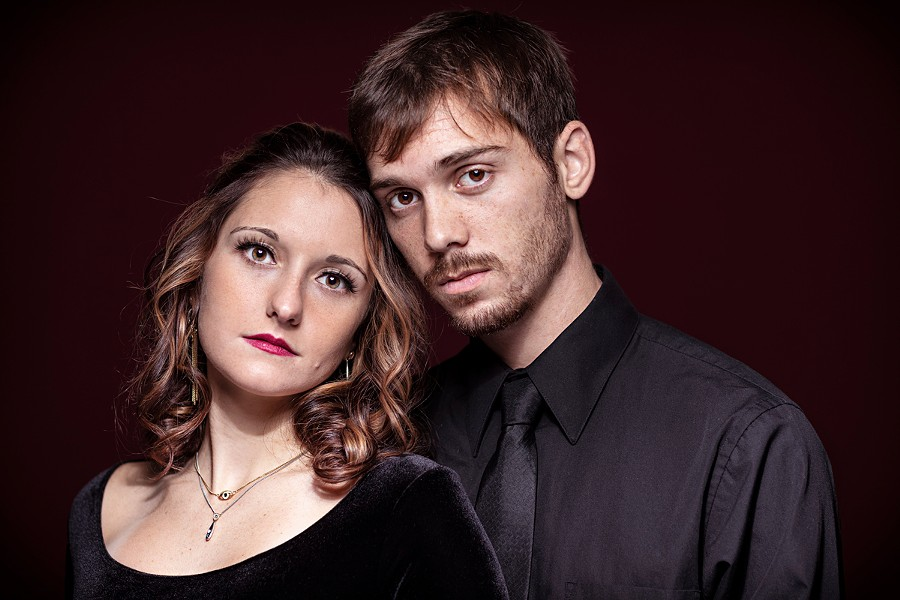 Ava Sauer and Tom Andolsek of The Archive Ravens will perform via Facebook Live on Saturday, August 1. - PHOTO PROVIDED