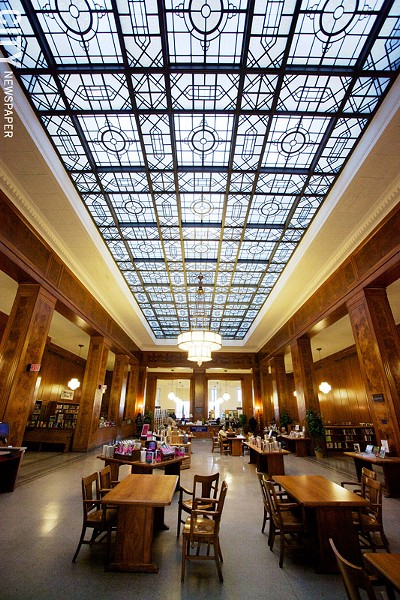 The Rochester Public Library's Rundel building - FILE PHOTO