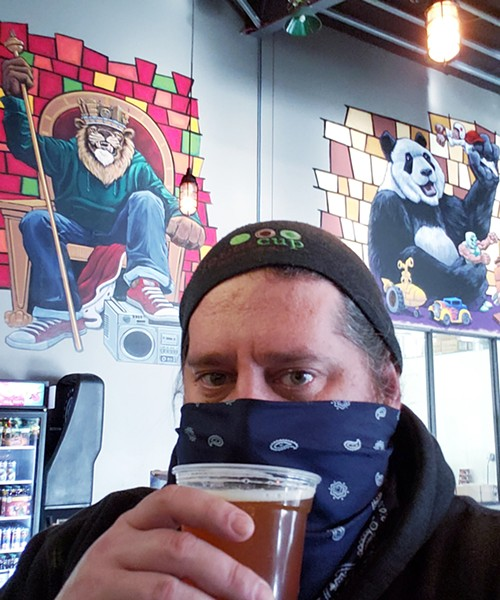 Three Heads Brewing's Geoff Dale. - PHOTO PROVIDED