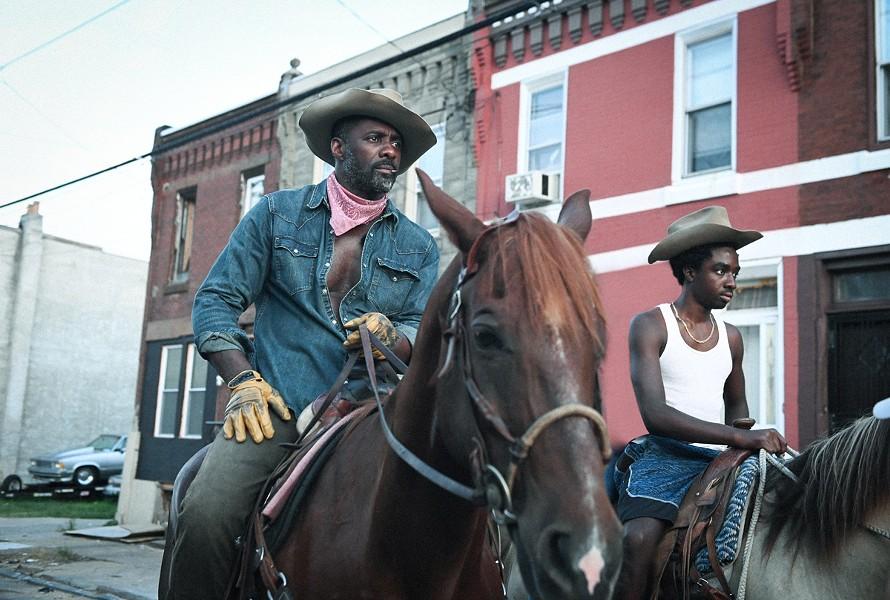 "Idris Elba and Caleb McLaughlin in ""Concrete Cowboy."" - PHOTO PROVIDED"