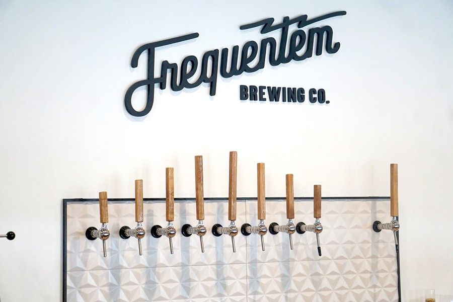 Frequentem opened in September, marking the fifth brewery in Canandaigua. - PHOTO BY GINO FANELLI