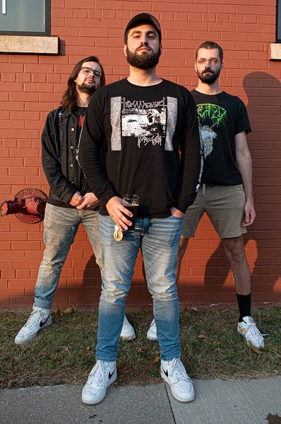 Undeath released their first full-length album, Lesions of a Different Kind, on Los Angeles-based Prosthetic Records on Oct. 23. - PHOTO BY JACOB WALSH