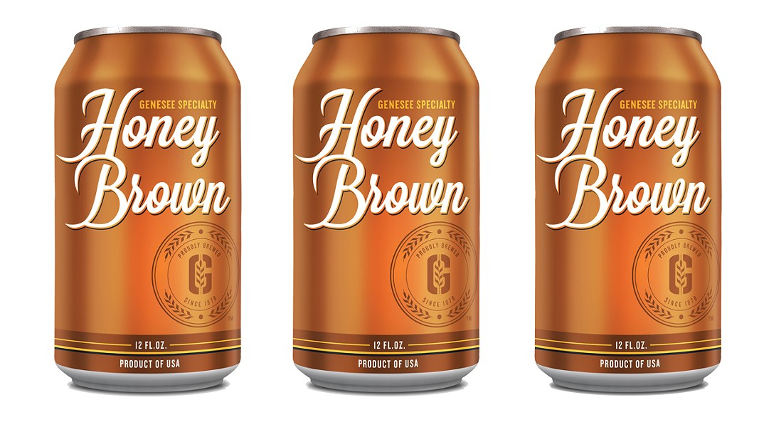 The Genesee Brewery is bringing its popular Honey Brown lager under its name. For the past few years the beer has been a standalone brand for the brewery. - PHOTO PROVIDED BY GENESEE BREWERY / PHOTO ILLUSTRATION BY RYAN WILLIAMSON