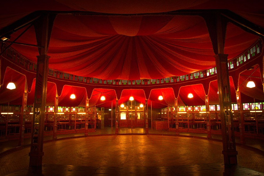 "The 2015 Fringe Festival will feature a new Spiegeltent, ""The Aurora."" The tent is making its U.S. debut at the Rochester Fringe. - PHOTO COURTESY ROCHESTER FRINGE FESTIVAL"