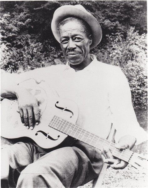 "Bluesman Eddie ""Son"" House once called Rochester home. - PHOTO BY DICK WATERMAN"
