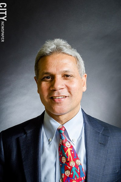 The city school district is buying out Superintendent Bolgen Vargas's contract. - FILE PHOTO