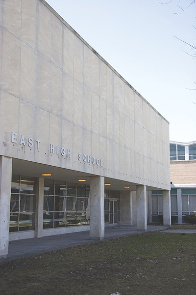 East High School is slated for renovations. - FILE PHOTO