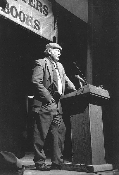 Ken Kesey gives a reading. - PROVIDED PHOTO