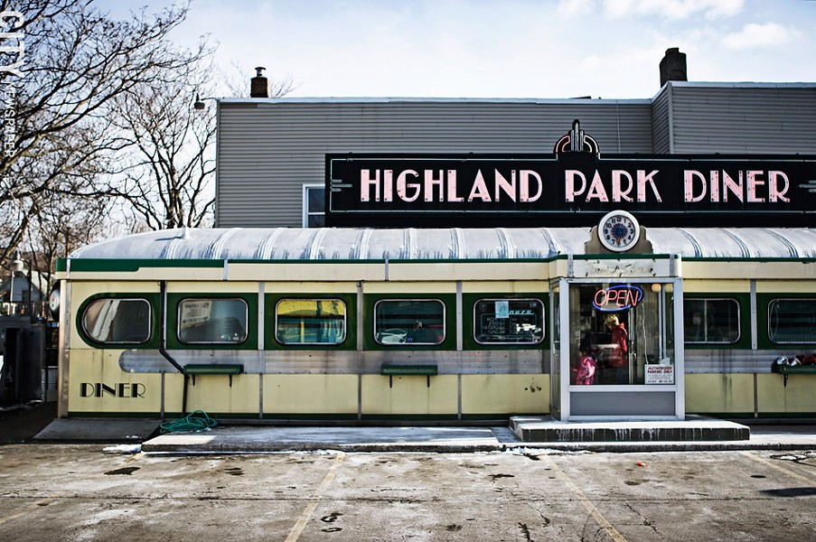 Highland Park Diner. - FILE PHOTO