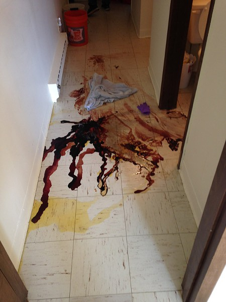 Not too long ago, cleaning up after a death was the responsibility of the family. - PROVIDED PHOTO KLEEN SCENE
