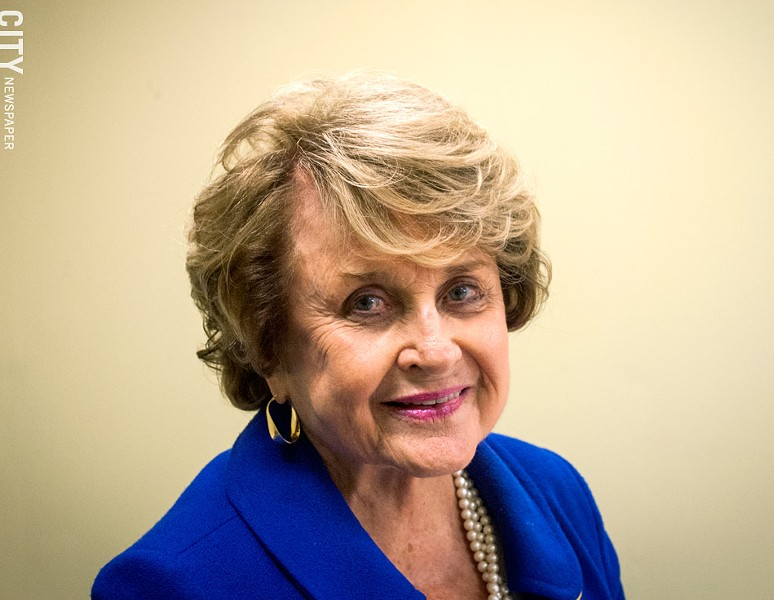 Democrat Louise Slaughter - PHOTO BY RYAN WILLIAMSON