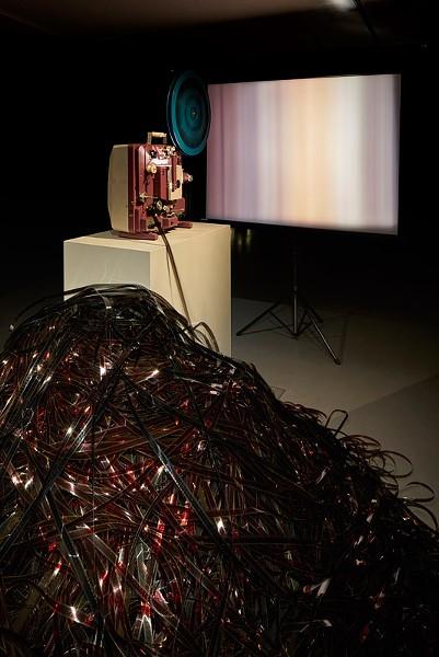 "A Still of Gibson + Recoder's ""Light Spill"" installation. - PHOTO PROVIDED"
